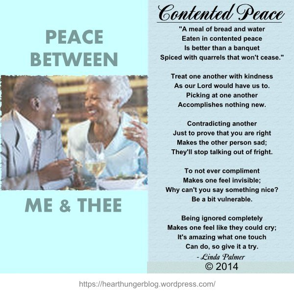 CONTENTED PEACE
