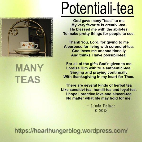 POTENTIAL I TEA