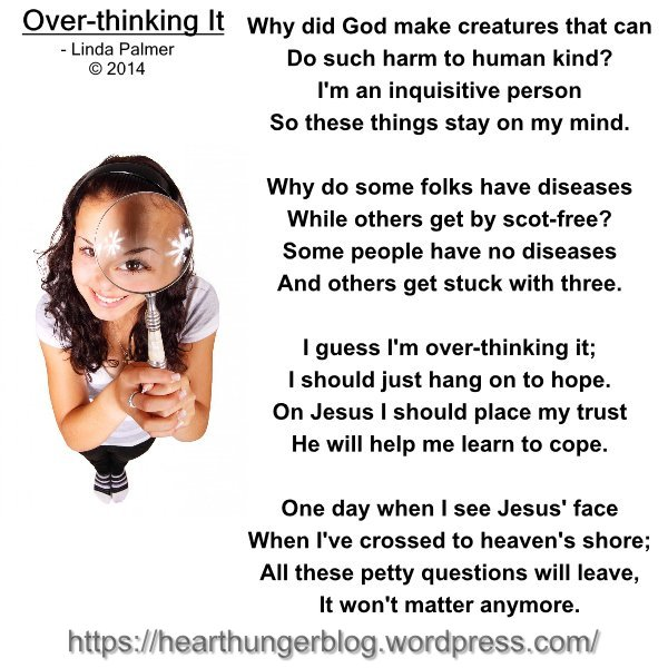 OVERTHINKING IT