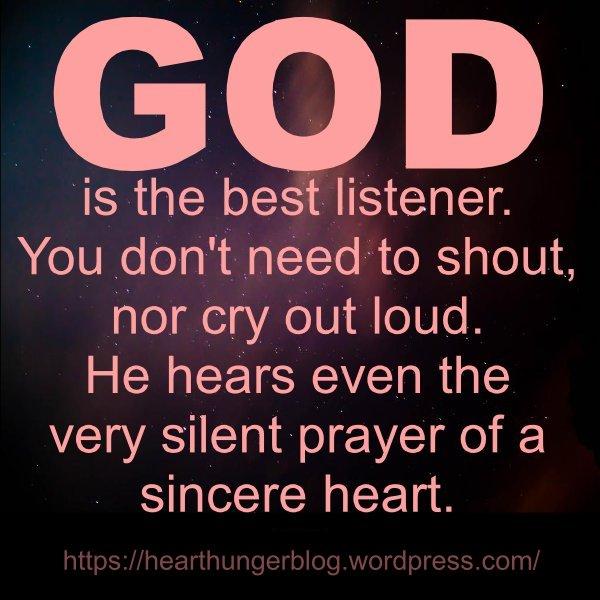 THE BEST LISTENER