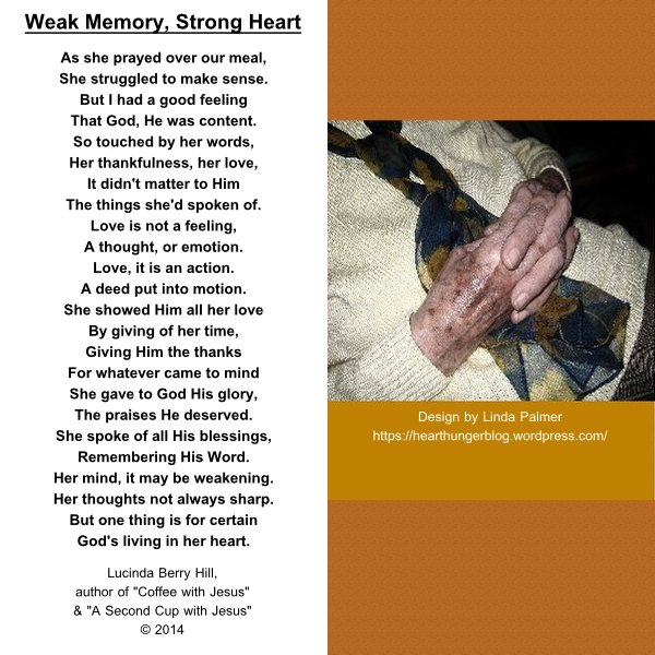 WEAK MEMORY, STRONG HEART